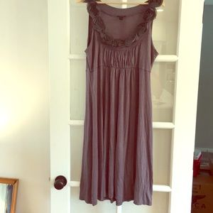 Forever Gray Knit Summer Dress